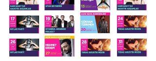 Aqua Florya Hayal Kahvesi Açıkhava Konserleri afiş