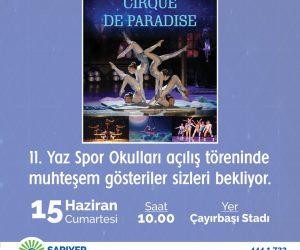 Cirque De Paradise Jimnastik Gösterisi