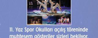 Cirque De Paradise Jimnastik Gösterisi afiş