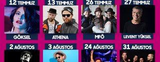Vadi Açıkhava Konserleri afiş
