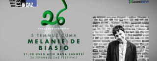 Melanie De Biasio Konseri afiş