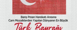Cam Mozaikli Dev Türk Bayrağı Ziyarete Açıldı! afiş