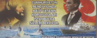 Mavi Vatanın Koruyucuları'nın Gemileri İstanbul'da! afiş