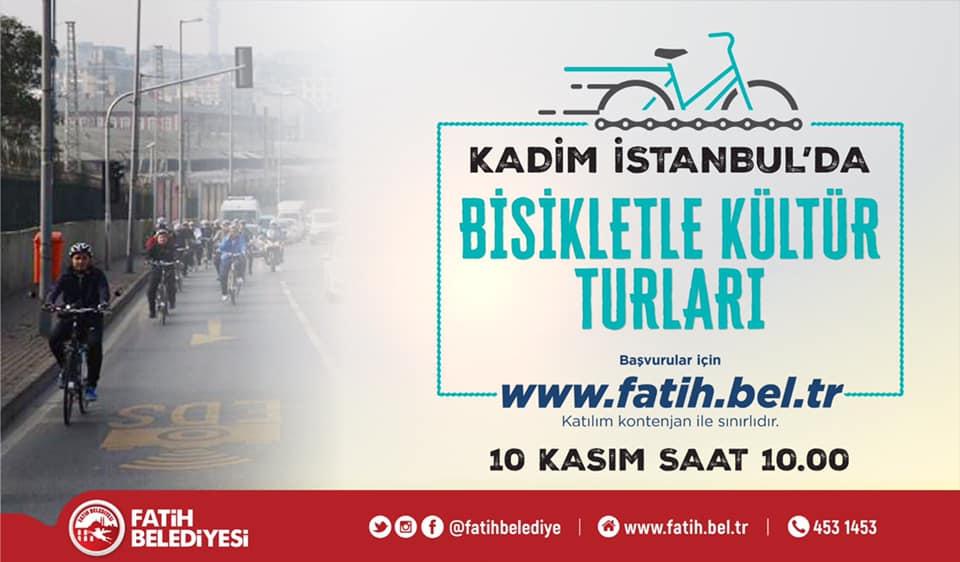 Kadim İstanbul'da Bisikletle Kültür Turları