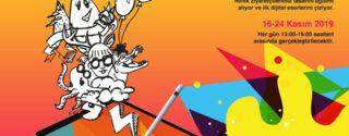 Minik Tasarımcılar Dijital İllustrasyon Atölyesi İle Axis'de afiş