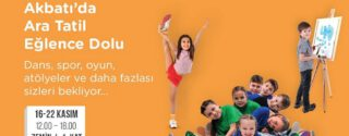 Akbatı'da Ara Tatil Eğlence Dolu! afiş