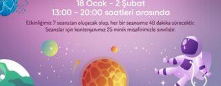 ÖzdilekPark İstanbul'da Uzayı Keşfe Çıkıyoruz! afiş