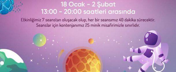 ÖzdilekPark İstanbul'da Uzayı Keşfe Çıkıyoruz!