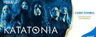 Katatonia Konseri afiş