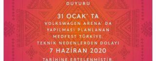Medfest Türkiye afiş