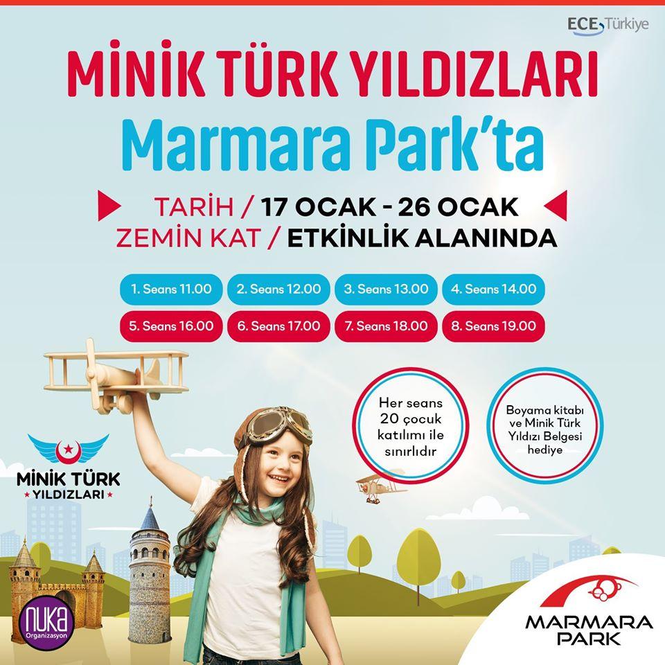 Minik Türk Yıldızları Marmara Park'ta!