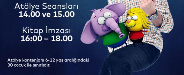Varol Yaşaroğlu Animasyon Atölyesi Ve İmza Günü