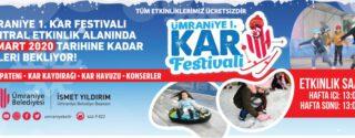 Ümraniye Kar Festivali afiş