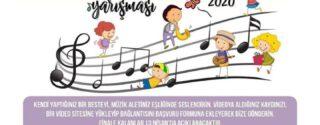 Ulusal Çocuk Besteciler Yarışması afiş
