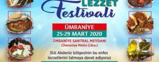 Akdeniz Lezzet Festivali afiş