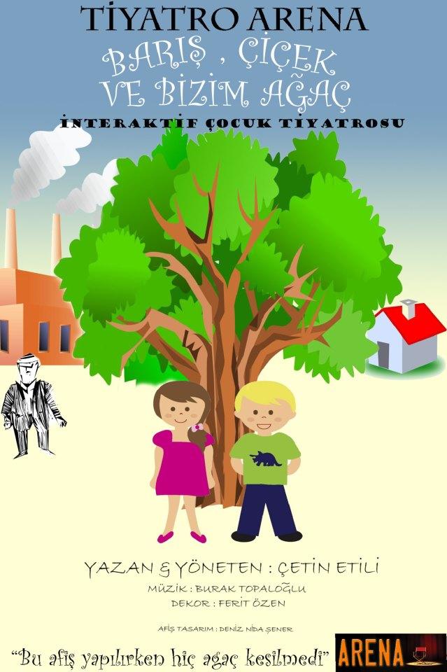 Barış Çiçek ve Bizim Ağaç Çocuk Tiyatro Ücretsiz
