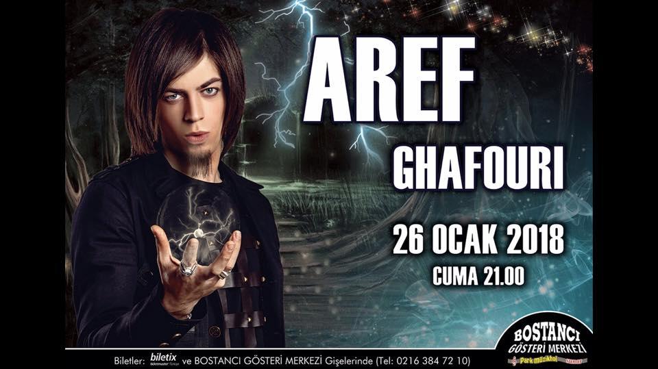 Aref Ghafouri İllüzyon Gösterisi