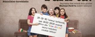 Keyif Dolu Bir Bayram Maltepe Park'ta! afiş