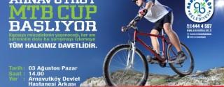 Arnavutköy MTB CUP Başlıyor! afiş