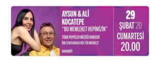 Aysun & Ali Kocatepe Konseri afiş