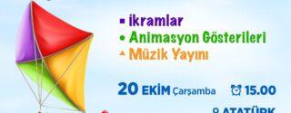 Sarıyer Uçurtma Festivali afiş