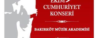 Bakırköy'de Cumhuriyet Bayramı Coşkusu afiş