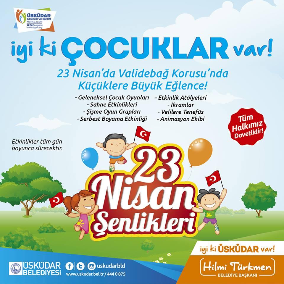 Uskudar 23 Nisan Senlikleri Etkinlik Istanbul