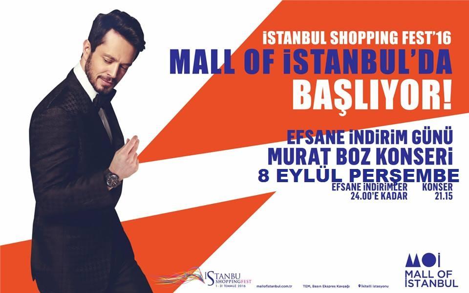 Murat Boz Mall Of İstanbul Konseri