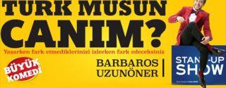 Türk Müsün Canım? Tiyatro afiş