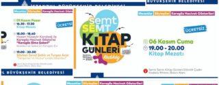 Semt Semt Kitap Günleri Kadıköy afiş