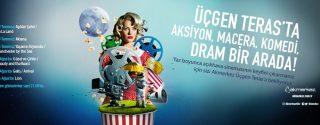 Akmerkez Açıkhava Sinema Günleri afiş