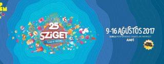 Sziget 2017 Ücretsiz Festival Gösterimi afiş
