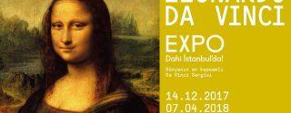 Leonardo Da Vinci Expo afiş