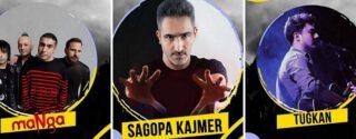 Alman Fest -Sagopa Kajmer -Manga-Adamlar-Tuğkan afiş