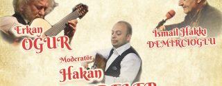 Müzikli Söyleşi Erkan Oğur & İsmail Hakkı Demircioğlu afiş