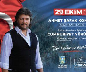 Silivri 29 Ekim Cumhuriyet Bayramı – Ahmet Şafak Konseri