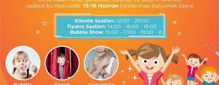 Eğlence Dolu Çocuk Festivali Maltepe Piazza'da! afiş