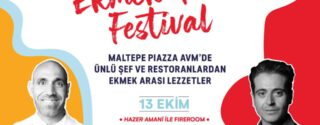 Maltepe Piazza'da Ekmek Arası Festival afiş