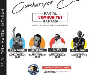 Kartal 29 Ekim Cumhuriyet Bayramı Etkinlikleri