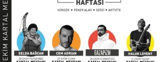 Kartal 29 Ekim Cumhuriyet Bayramı Etkinlikleri afiş