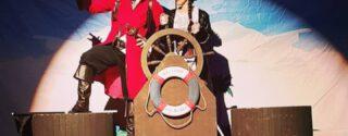 Korsan Kardeşler Hazine Peşinde Tiyatro afiş