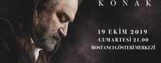 Volkan Konak Konseri afiş