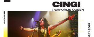 Cingi Performs Queen afiş