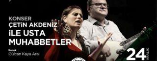 Çetin Akdeniz İle Usta Muhabbetler afiş
