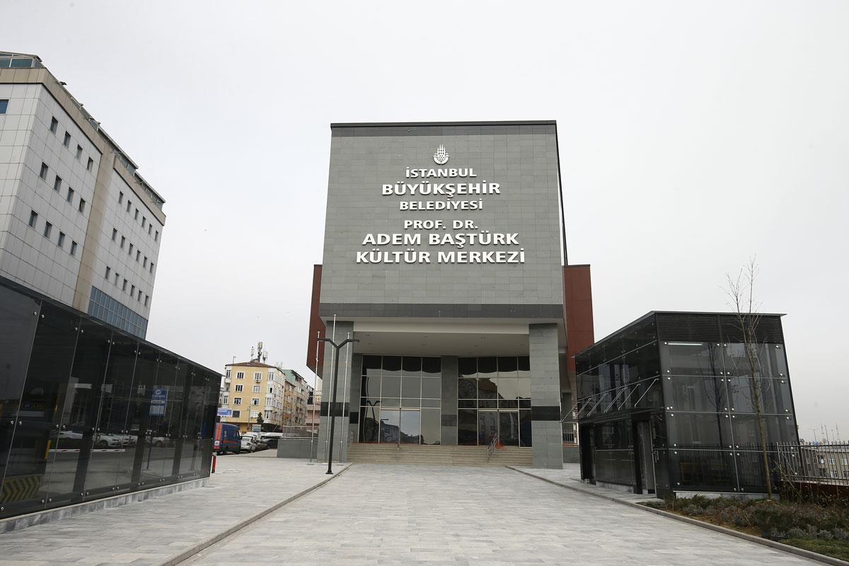 İBB Prof. Dr.Adem Baştürk Kültür Merkezi afi�