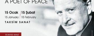 Nazım Barışın Şairi Sergisi afiş