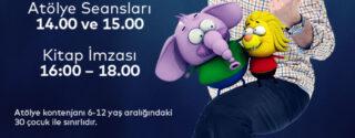 Varol Yaşaroğlu Animasyon Atölyesi Ve İmza Günü afiş
