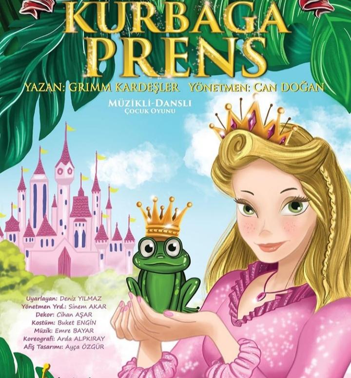 Kurbağa Prens Çocuk Tiyatro