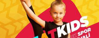 Sweats Kids Çocuk Spor Festivali afiş