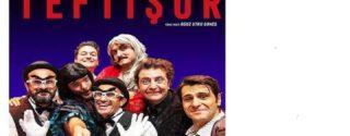 Teftişör Tiyatro afiş